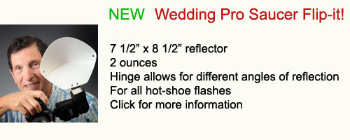 New Wedding Pro Saucer Flip-it!