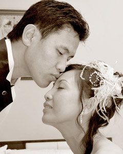 Bride and groom - Cheah Keng Woo, photographer
