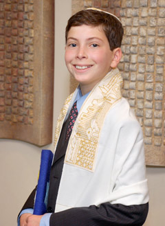 Bar Mitzvah boy - Joe Demb, photographer