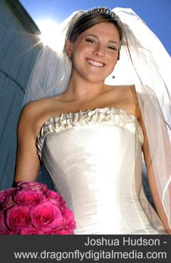Bride in the sun - Joshua Hudson