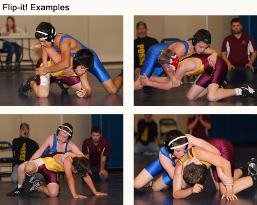 Jerry Sigua: Wrestling photography using the Demb Flip-it!