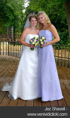 Bride and maid of honor - Jez Shavell