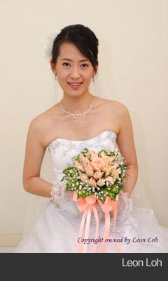 Bridal portrait - Leon Loh