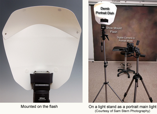 portrate flash setup