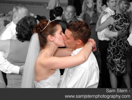 Bride and groom dancing - Sam Stern