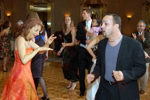 Diffuser Example: Guests dancing