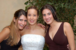 Diffuser Example: Bride with two friends
