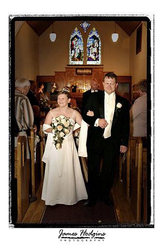 James Hodgins wedding photo