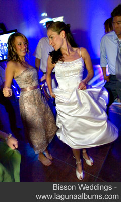 Wedding party photo by Bisson Weddings