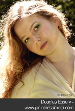 Portrait of a young woman - Douglas Essery
