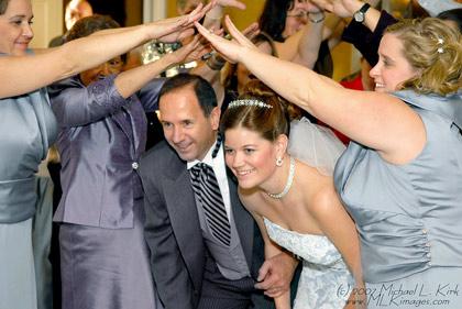 Michael Kirk: The Wedding Couple Leaving