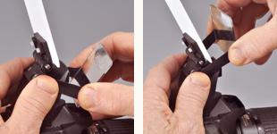Demb Pop-up Flip-it! removal instructions step 1